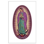9 Lady of Guadalupe Large Poster