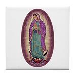 9 Lady of Guadalupe Tile Coaster
