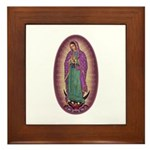 9 Lady of Guadalupe Framed Tile