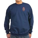 9 Lady of Guadalupe Sweatshirt (dark)