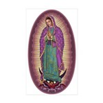 9 Lady of Guadalupe Sticker (Rectangle 10 pk)