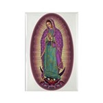 9 Lady of Guadalupe Rectangle Magnet (100 pack)