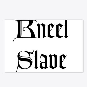 Kneel Slave Postcards (Package of 8)