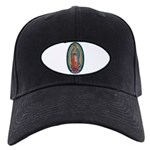 11 Lady of Guadalupe Black Cap