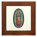 11 Lady of Guadalupe Framed Tile