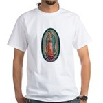 11 Lady of Guadalupe White T-Shirt