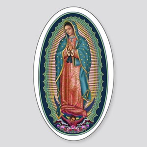 11 Lady of Guadalupe Sticker (Oval)