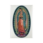11 Lady of Guadalupe Rectangle Magnet (100 pack)