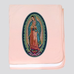 11 Lady of Guadalupe baby blanket
