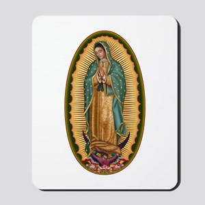 12 Lady of Guadalupe Mousepad