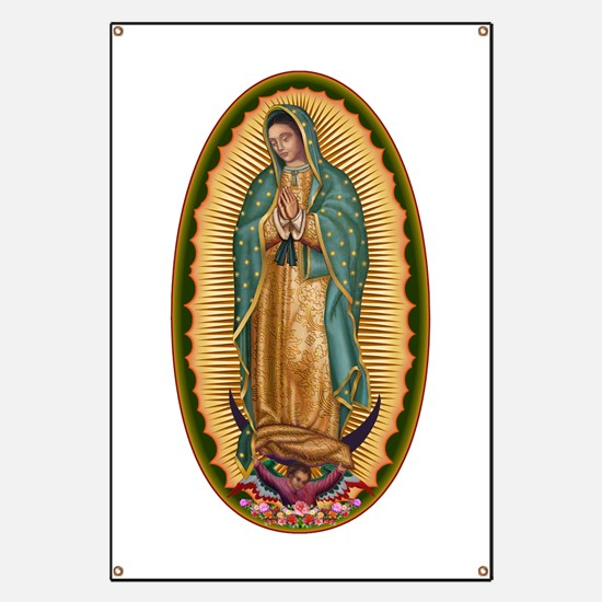 12 Lady of Guadalupe Banner