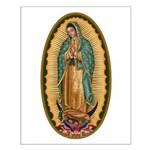 12 Lady of Guadalupe Small Poster