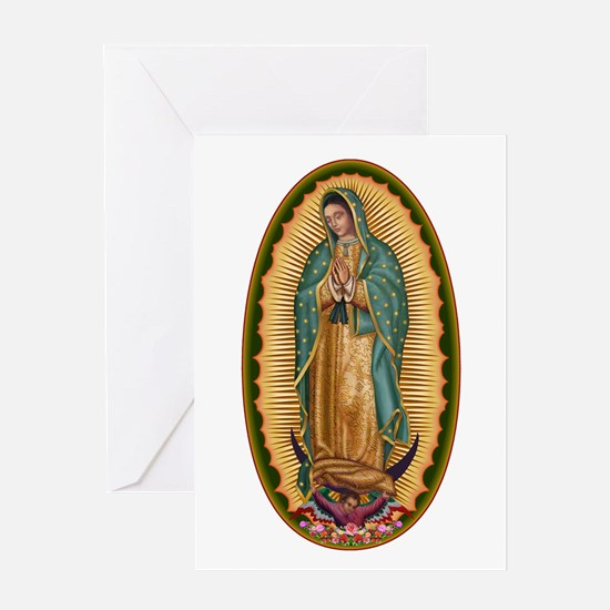 12 Lady of Guadalupe Greeting Card