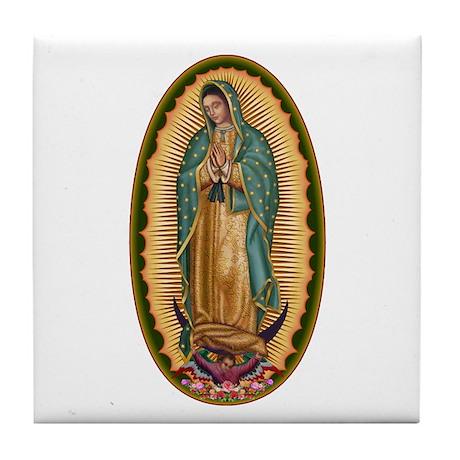 12 Lady of Guadalupe Tile Coaster
