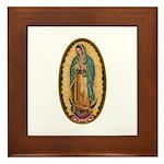 12 Lady of Guadalupe Framed Tile