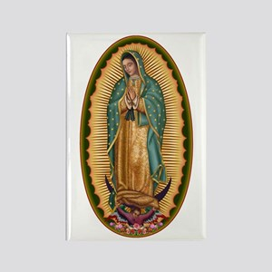12 Lady of Guadalupe Rectangle Magnet