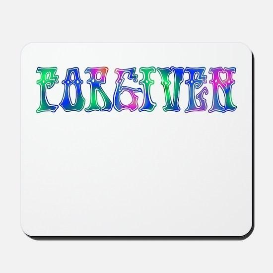 Forgiven Mousepad