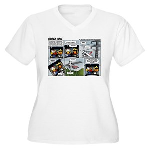 d7574cc5cc5b8 Chicken Wings Women s Plus Size T-Shirts - CafePress
