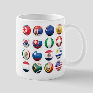 World Cup Soccer Balls Mug