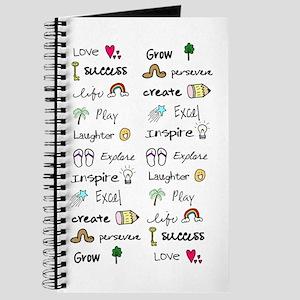 Motivational Words Journal