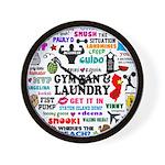 Jersey GTL Wall Clock