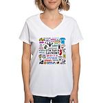 Jersey GTL Women's V-Neck T-Shirt
