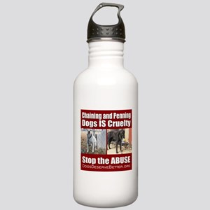 Chaining IS Cruelty Stainless Water Bottle 1.0L