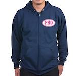 PHD Pretty Hot Dancer by DanceShirts.com Zip Hoodi