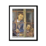 The Lovers - Framed Panel Print