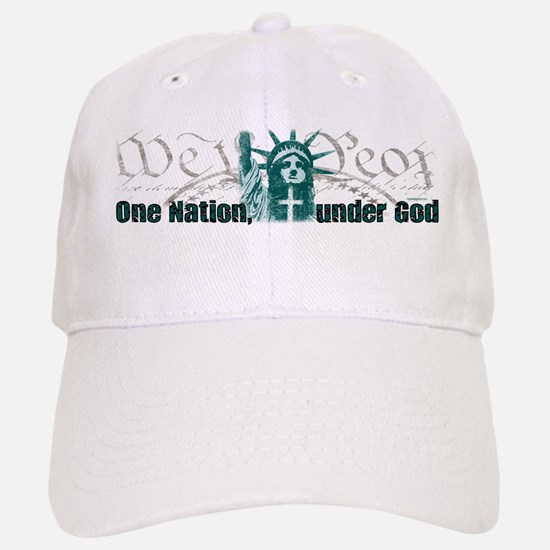 One Nation Under God Baseball Baseball Cap