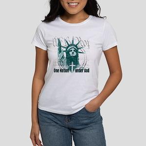 One Nation Under God Women's T-Shirt