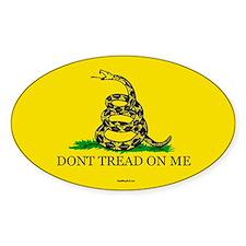 Classic DTOM Gadsden Oval Sticker