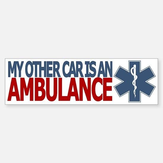 My Other Car is an Ambulance (EMS bumper sticker)