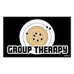 Group Therapy - Guns Sticker (Rectangle 50 pk)
