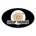 Group Therapy - Guns Sticker (Oval 10 pk)