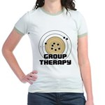 Group Therapy - Guns Jr. Ringer T-Shirt
