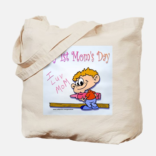 My 1st Mom's Day Tote Bag