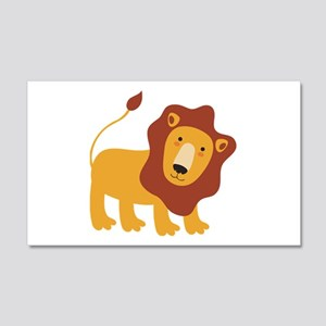 Lion 22x14 Wall Peel