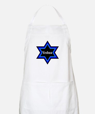 Yeshua Star of David Apron