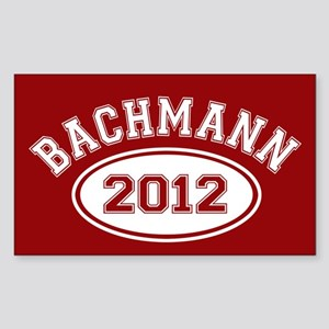Bachmann 2012 Sticker (Rectangle)