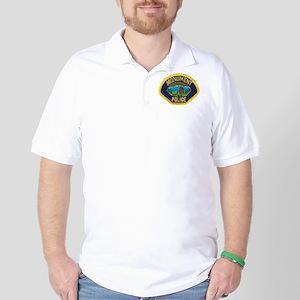 Monument Police Golf Shirt
