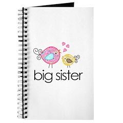 Whimsy Birds Big Sister Journal