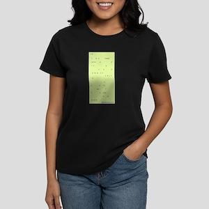 COURT REPORTER Women's Dark T-Shirt