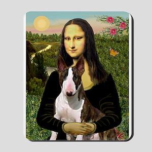 Mona & her Brindle Bully Mousepad