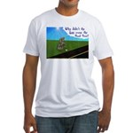 Why didn't the egg 1rst Fitted T-Shirt