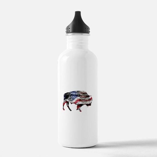 Cute Buffalo Water Bottle
