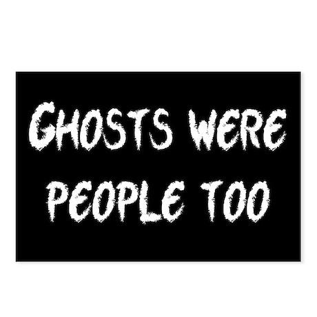 Ghosts Were People Postcards (Package of 8)