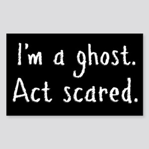 I'm a ghost Sticker (Rectangle)