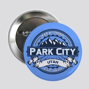 "Park City Blue 2.25"" Button"