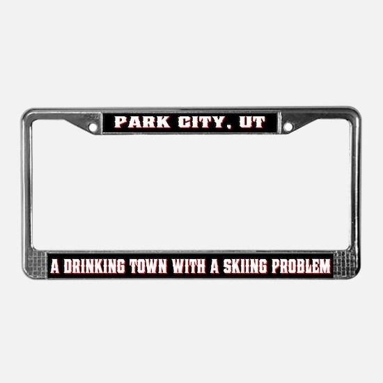 Park City License Plate Frame